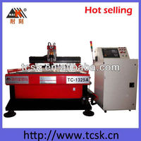 Italy air cooling spindle Japan servo motor ATC CNC router machine