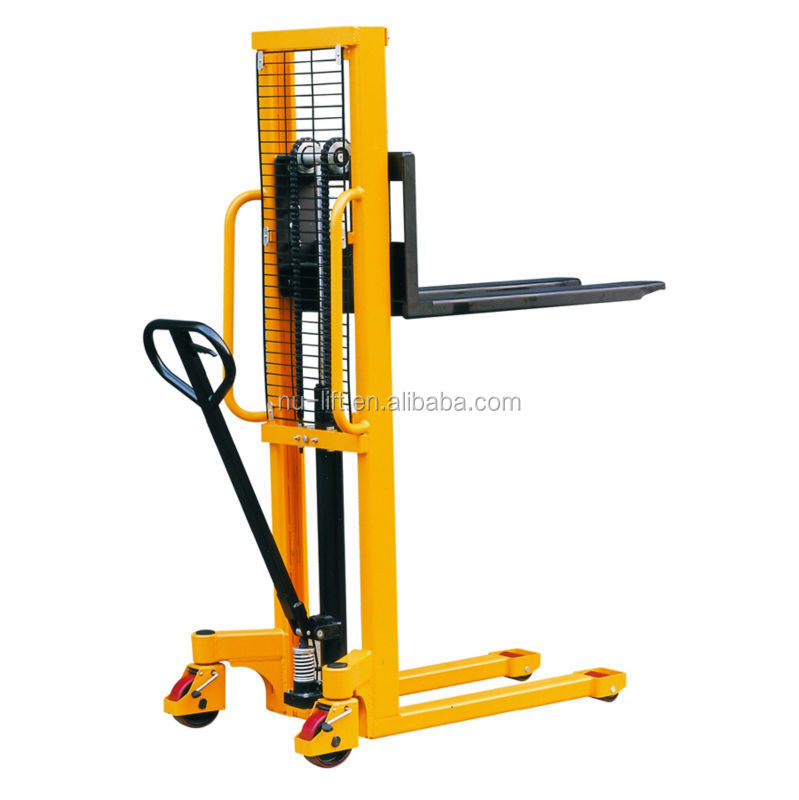 Fork Lift Foot : Hydraulic hand forklift stacker with foot pedal buy