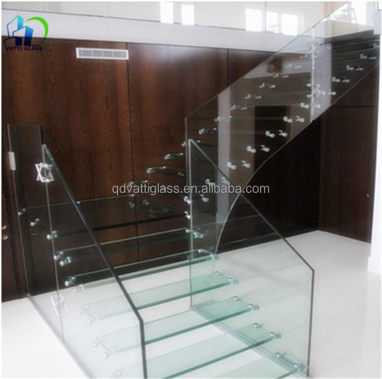 ext rieur en verre tremp mur architectural tremp verre murs effacer cloison de verre pour la. Black Bedroom Furniture Sets. Home Design Ideas
