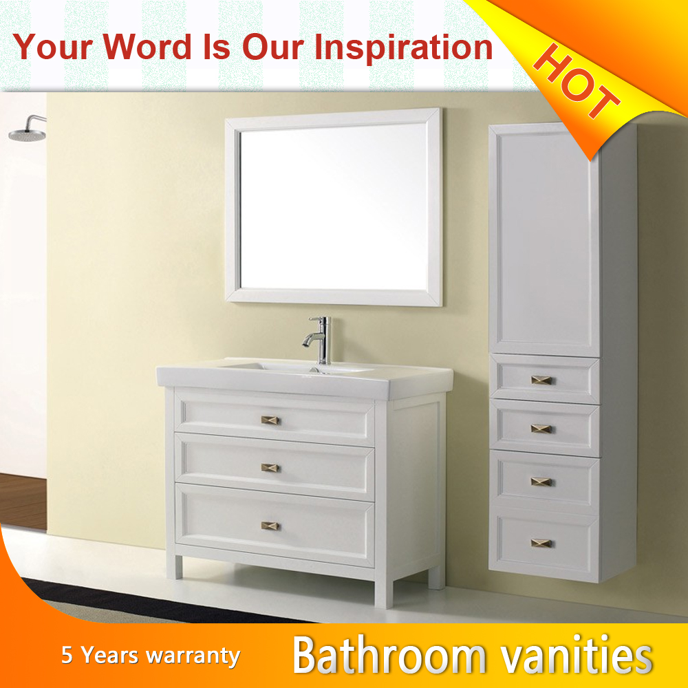 European style vanities white oak melamine luxury modern metal bathroom cabinet buy euro - Contemporary european designer bathroom vanities ...