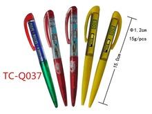 High-end roller pen refill gel free liquid ink logo roller ball pen