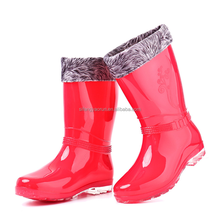 beautiful women's rubber rain boot