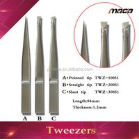 2014 best design stainless steel eyebrow tweezers