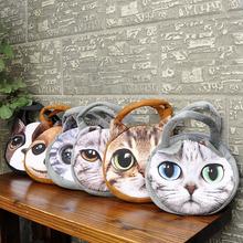 Retro Cartoon Animals Bags Dog Head Personalized Tote Bag Women's Handbag 3D Printed Cat Head Shoulder Bag 2015 Wholesale Price