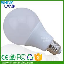 China AC85-265V E27 / B22 PBT + Aluminum 7W LED Bulb Light