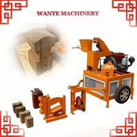 WANTE MACHINERY WT1-20/WT1-20M hot sale interlocking brick machine