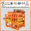 brick building equipment for QTJ4-28 fly ash brick machine from professional factory producing