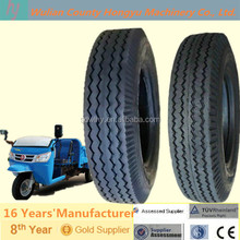 Best Chinese brand tricycle tire with Zigzag lines