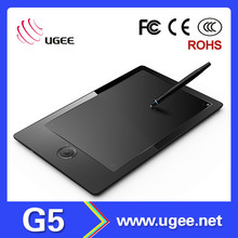 High performance 9x6 inch Ugee G5 2048 levels graphic tablet digitizer