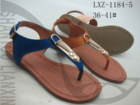 LADIES BEAUTIFUL FLAT SANDAL WITH TPR SOLE