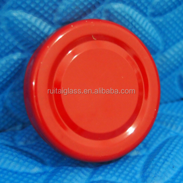 Bottle Safety Button Lug Cap With Safety Button