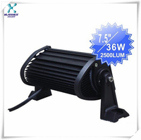 High power 36w 7.5inch led off road light bar/9-32 led drivinglight/4x4 car accessory/motorcycle headlight/auto lamp