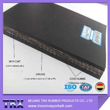 Good quality 4 ply rubber conveyor belt price