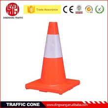 New plastic Trade Assurance Flexible traffic cone for rental, 18 inch traffic cones