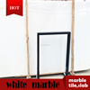 Chinese original natural polished crystal white marble
