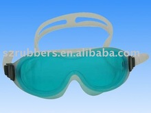 Men's Durable Swim Goggle with Silicone Strap