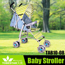 Summer Travel Lightweight Folding Canopy Umbrella Stroller