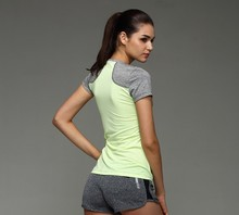 Women's Short-Sleeve O-Neck yoga Tee