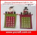Calendário de natal, calendário de advento, natal de contagem regressiva