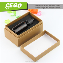 OEM Printing!!! Most popular glass dropper bottle china plastic bottle cap manufacturer with gift box package