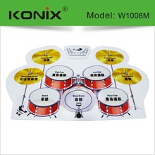 silicon popular drum set sheet music by usb cable