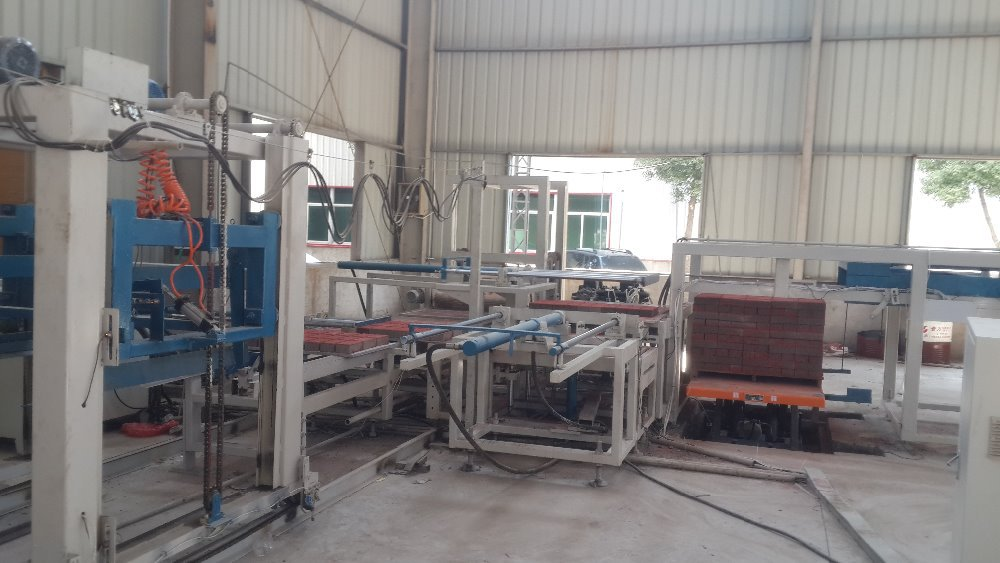 Fully Automatic Latest Design Concrete Bricks blocks Collecting Machine Product line