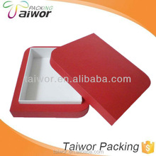 Custom Velvet jewelry packaging box with high quality