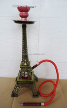 The Eiffel Tower middle size hookah 2 hose shisha sale domino al fakher
