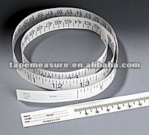Custom printed hospital waterproof disposable health&medical Tyvek paper infant product tape measure ruler with Your Logo
