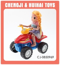 Pull line sand beach vehical plastic pull string toys motorcycle