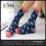 best cotton custom grip socks with better price in China