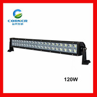car extra parts waterproof IP68 120W led spotlight car lights