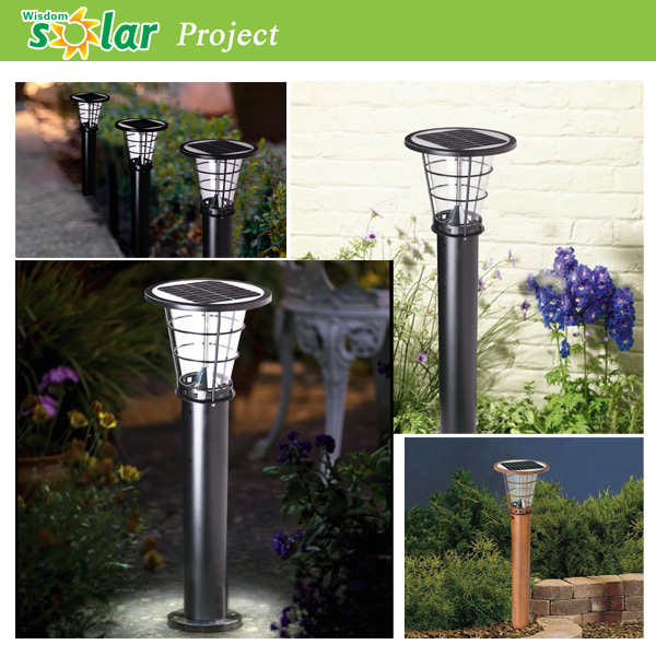 Flush Solar Wall Lights : Solar Compound Lights / Solar Garden Lights / Courtyard Lights - Buy Solar Compound Garden ...