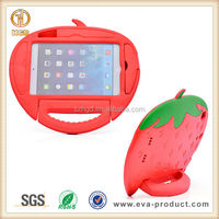 New Strawberry Shape Fashion Protective Case for iPad Mini With Stand