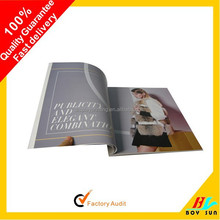 Promotional low price good printing material booklet