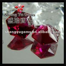 gemstone factory prices synthetic corundum ruby(RUSP0004#08)