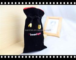 2015 new sale velvet jewelry pouch & black velvet bag
