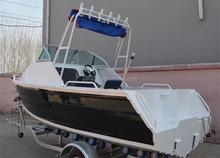 17ft Deep-V cuddy cabin aluminum boat
