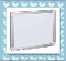 Aluminium frame magnetic writing board for school