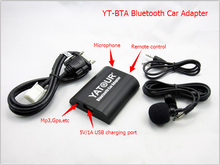 compatible with car radio with usb mp3 microphone function handsfree bluetooth car kit