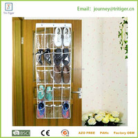 12 Pair Shoe Hanging Closet Door Storage Space Saver bag