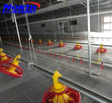 prefabricated low cost steel poultry shed for chicken