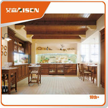 Professional mould design factory directly home depot solid wood luxury kitchen furniture