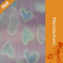 100% Polyester Printing Cheap Coral Fleece Polyester Fiber