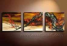 Modern Abstract Large Flower Oil Paintings