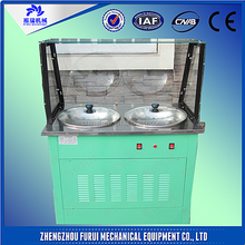 Street business!! double pans fried ice cream machine with fried tools/ice cream vending machine
