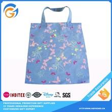 Reusable Hemp Folding Tote Shopping bag