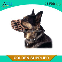 breathable colorful anti bite bark dog muzzle