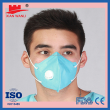 Best CE/ISO13485 disposable surgical 3-ply 3D Solid Face Mask