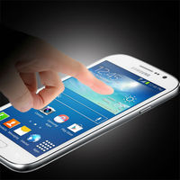 2015 handphone accessories touch tempered glass screen protective film for samsung note 4